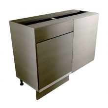 Handleless Straight Corner Base Cabinet With Drawer