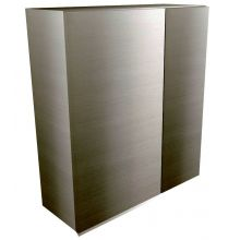 Handleless Straight Corner Wall Cabinet