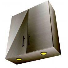 HYBRID Double Door Wall Cabinet With Lights