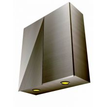 Handleless Double Door Wall Cabinet With Lights
