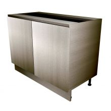 Handleless Double Door Base Cabinet