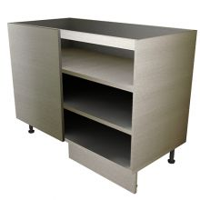 Open Shelf Straight Corner Base Unit
