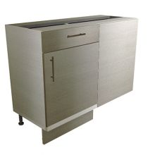 HYBRID Straight Corner Base Cabinet With Drawers