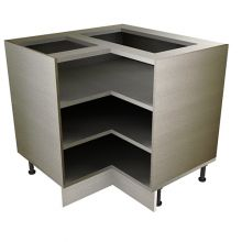 Open Shelf L Shaped Base Unit