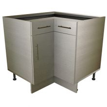 L Shaped Corner Base Cabinet With Drawers