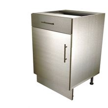 Single Door Base Cabinet With Drawer
