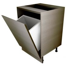 Handleless Tilting Door Mechanism Base Bin Unit