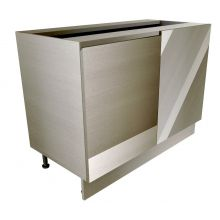 Handleless Straight Corner Base Cabinet